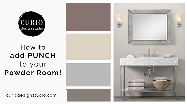 Add Punch To Your Powder Room