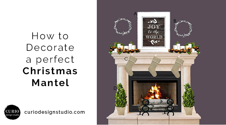 how to decorate your mantelchristmas decor by taylor - Decorating Your Mantel For Christmas