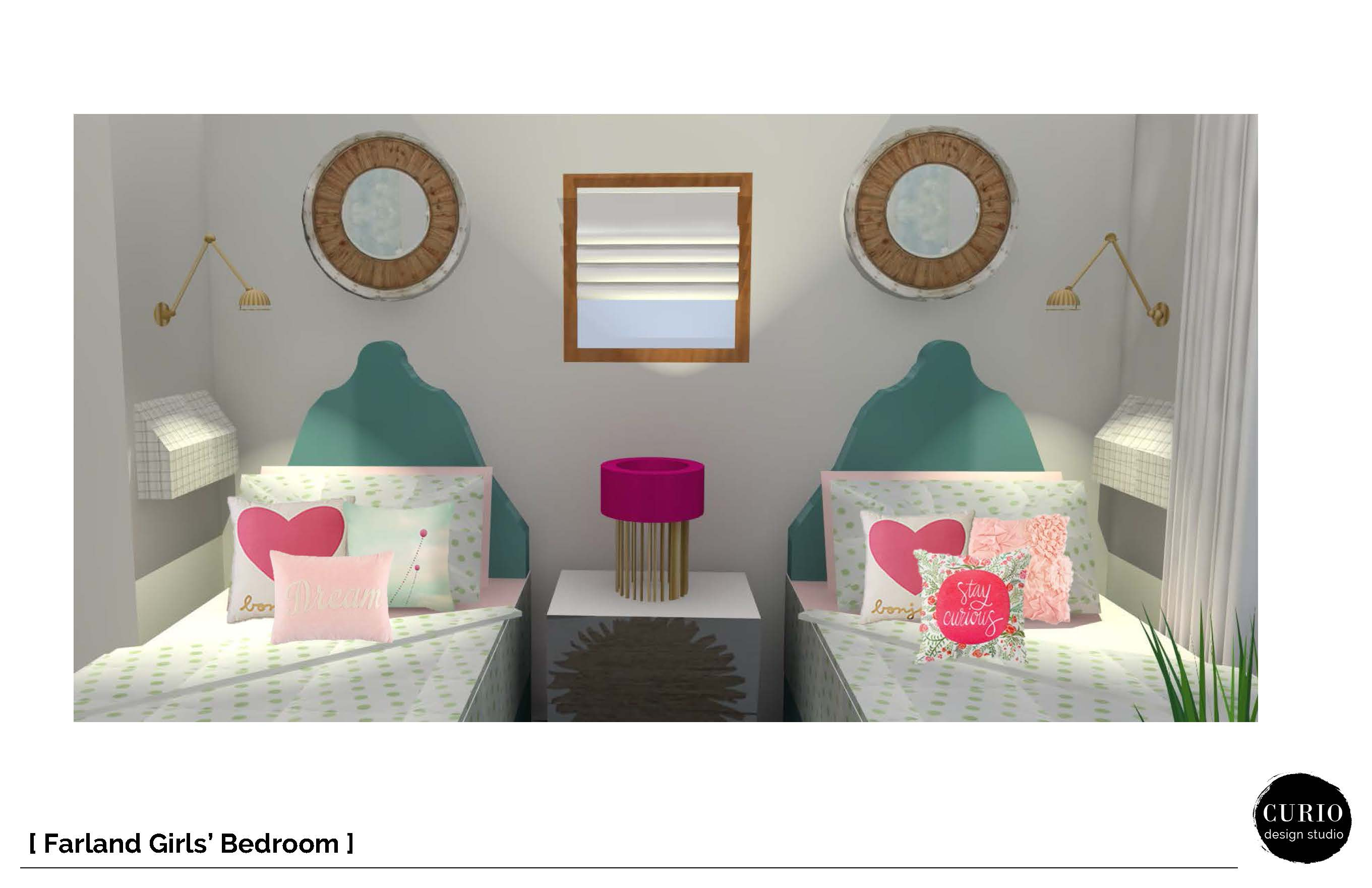 Farland girls bedroom classic package page 5