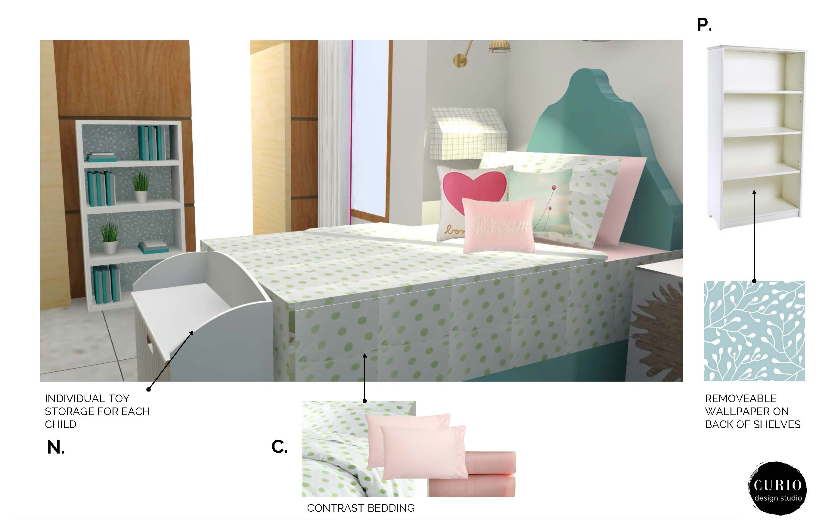 Farland girls bedroom classic package page 6