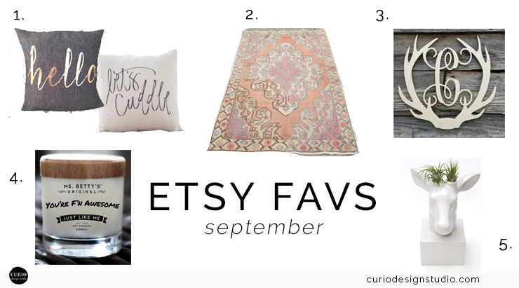 'FALL' IN LOVE WITH SEPTEMBER ETSY FAVS!