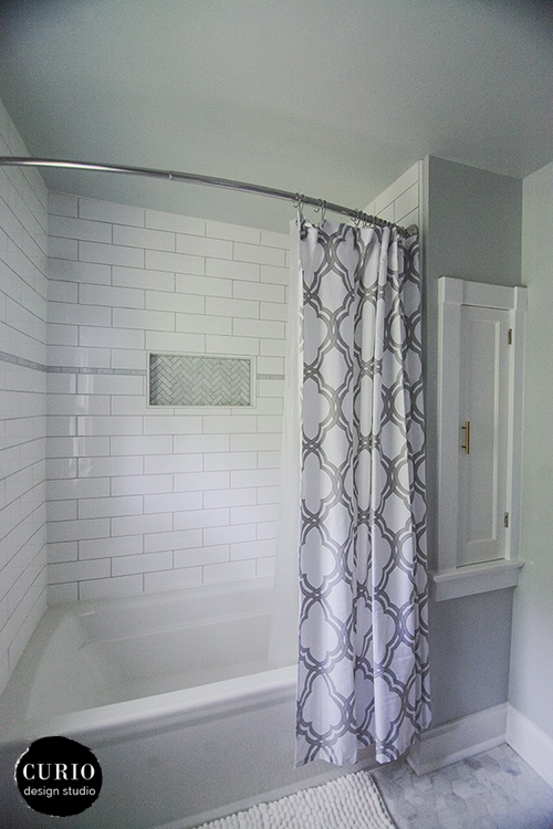 Our House Master Bath Renovation Pt 2 Curio Design