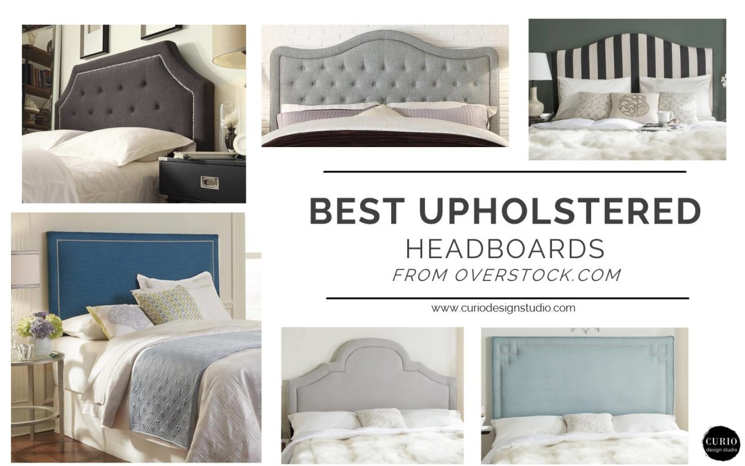 Best Headboards Enchanting Best Upholstered Headboards From Overstock  Curio Design Studio Design Inspiration
