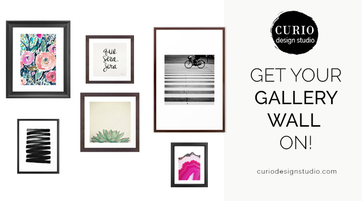 Gallery Wall From Society 6!