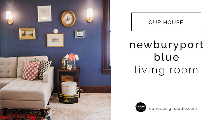NEWBURYPORT BLUE LIVING ROOM