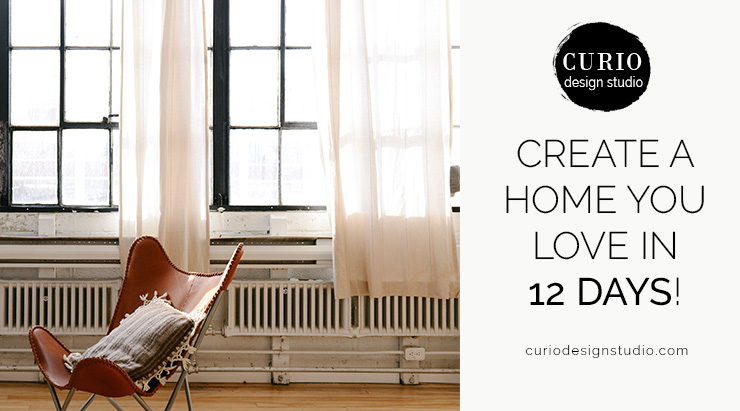 Create a home you love in 12 days curio design studio for How do you start building a house