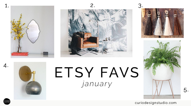 ETSY FAVORITES: JANUARY