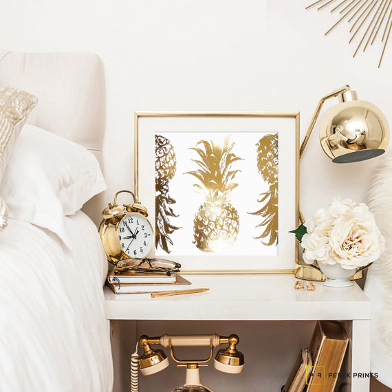 etsy favs: pineapple home decor trend | curio design studio