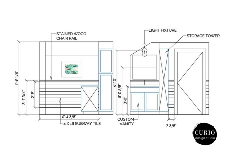 bath renovation design plan