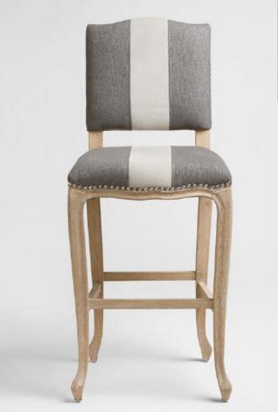 charcoal belmond upholstered barstool world market