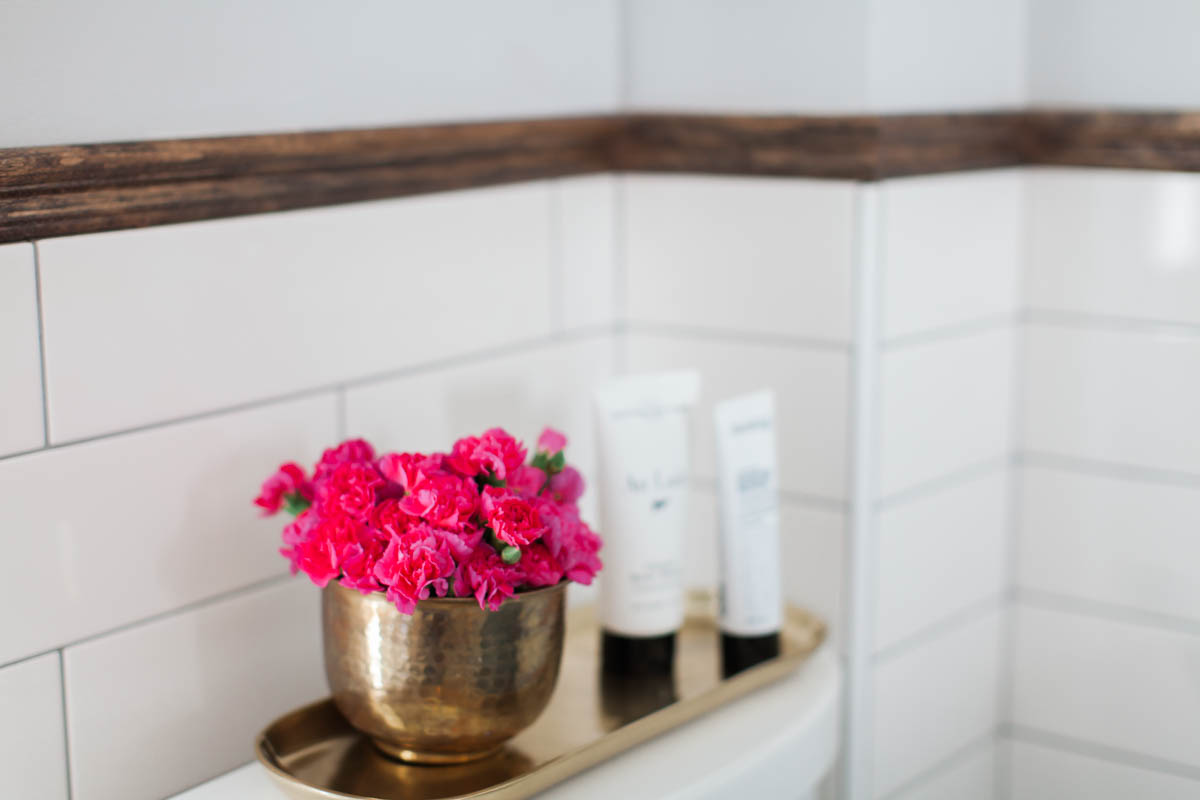 bathroom renovation and styling