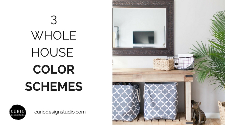 PAINT PALETTES FOR YOUR ENTIRE HOUSE