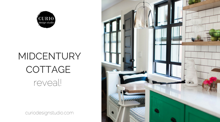 MIDCENTURY MEETS BOHO CHARM IN LAKE COTTAGE REVEAL!