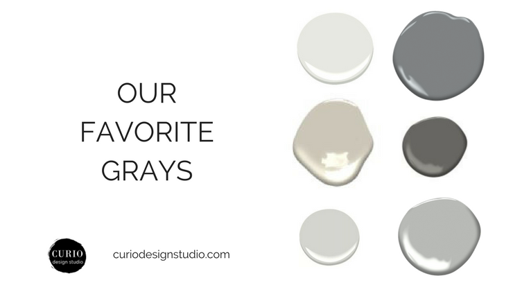 FAVORITE GRAY COLOR COMBOS