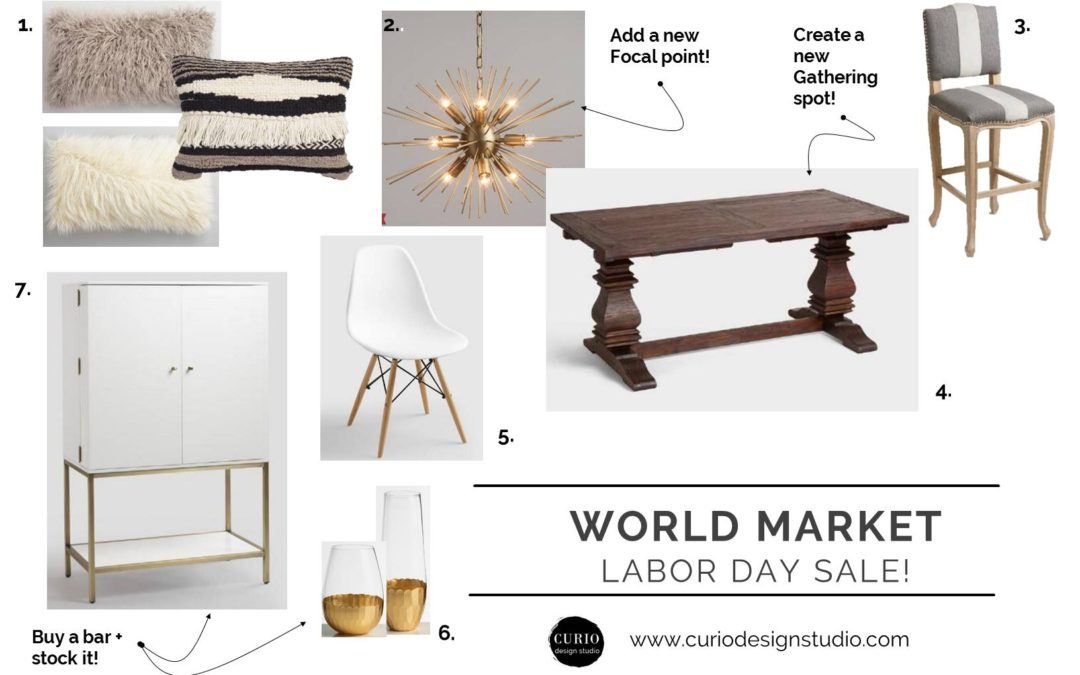 TOP PICKS: WORLD MARKET LABOR DAY SALE!