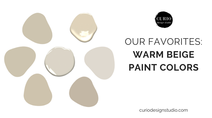 Our Favorites Warm Beige Paint Colors